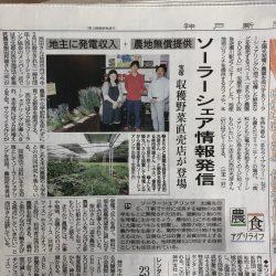 神戸新聞まちかど農園